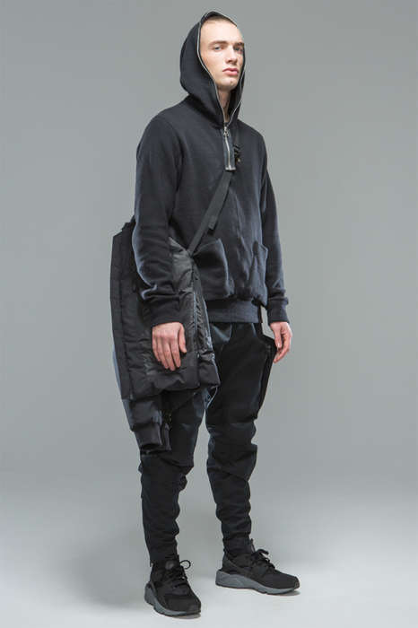 Tech-Focused Fall Fashions - The ACRONYM 2015 Fall/Winter Collection is Darkly Futuristic
