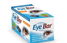 Ocular Health Chocolates - Altacor's EyeBar Supplies Essential Ocular Nutrients in a Tasty Form