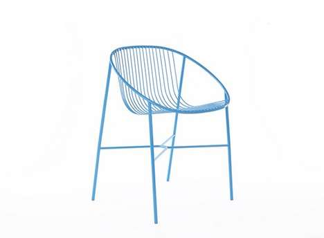 Wispy Wire Chairs