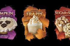 Festive Fall Ice Creams - The Cold Stone Creamery's New Autumn Flavors Reflect Seasonal Tastes