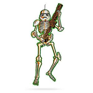 Skeletal Sci-Fi Decorations