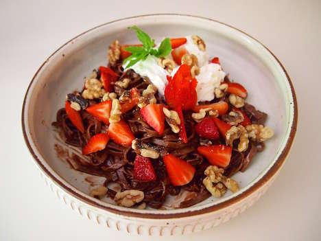 Chocolate Pasta Desserts