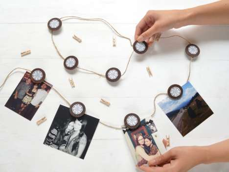 Wooden Photo Garlands
