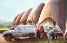 Aid-Delivery Drones - Rwanda's Droneport Project Will Fly Medical Supplies to Inaccessible Areas