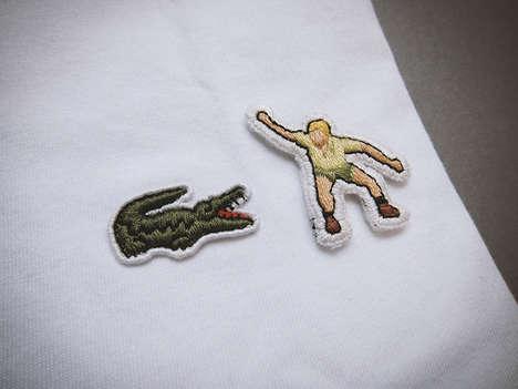 Embroidered Logo Parodies