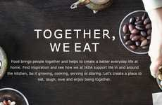 Family-Bonding Food Commercials - IKEA's 'Together We Eat' Campaign Wants to Get to Know Your Family