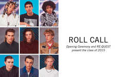 School Yearbook Editorials - Opening Ceremony's 'Roll Call' Series Depicts High School Stereotypes