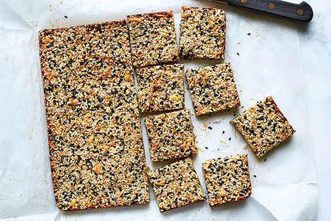Healthy Sesame Squares