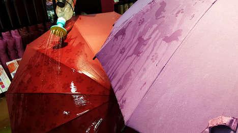 Pattern-Revealing Umbrellas