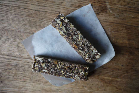 Bird-Like Seed Bars - The Homemade Energy-Boosting Snack From Free People Contains No Gluten or Nuts