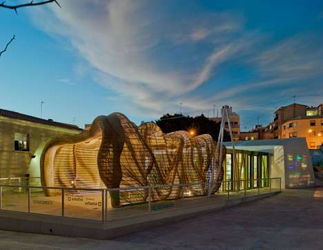 Insect-Inspired Pavilions