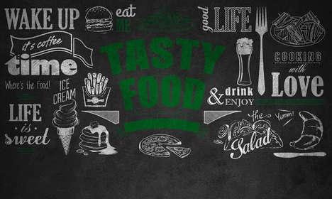 Chalkboard Cafe Branding