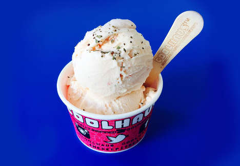 Pizza Ice Cream Flavors - Coolhaus Has Created a Frozen Custard Flavored After Popular Fast Food