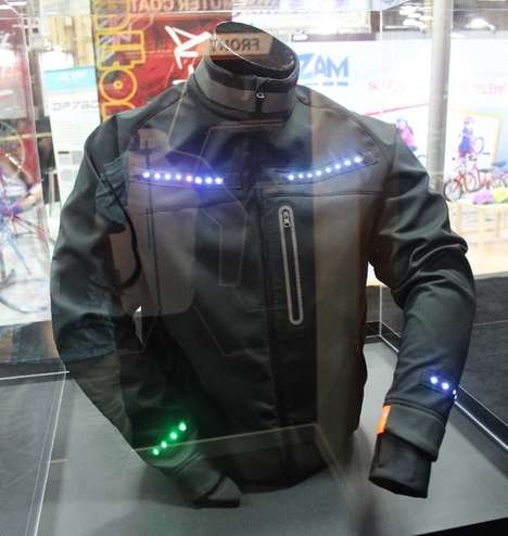 Signalling Bicycle Jackets
