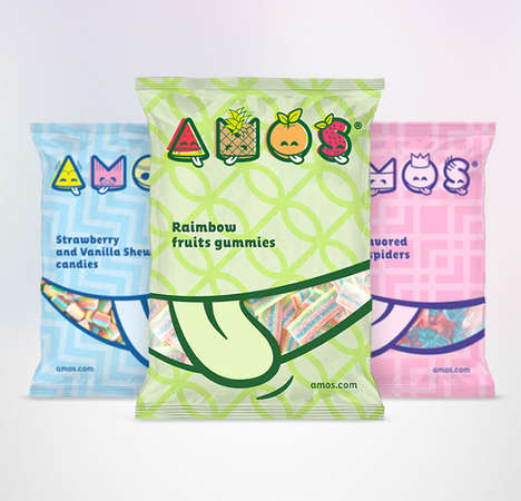 Mouth-Labeled Candies