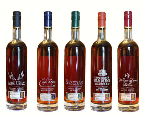 Antiquated Aged Bourbons - The Buffalo Trace Antique Collection Pays Tribute to Heritage Brewing