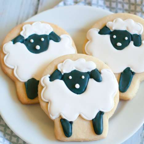 Sugary Sheep Cookies