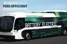 Supercharged Electric Buses - This Bus is Designed to Go Significantly Further on a Single Charge