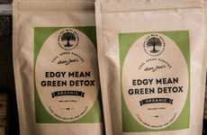 Detoxing Green Powders - The Edgy Mean Green Detox is an Organic Supplement to Boost Body Function