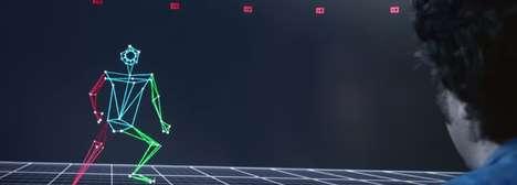 Virtual Athlete Game Ads