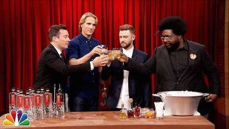 Talk Show Host Cocktails