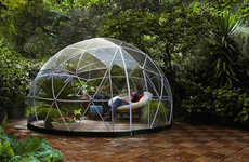 Relaxing Garden Igloos
