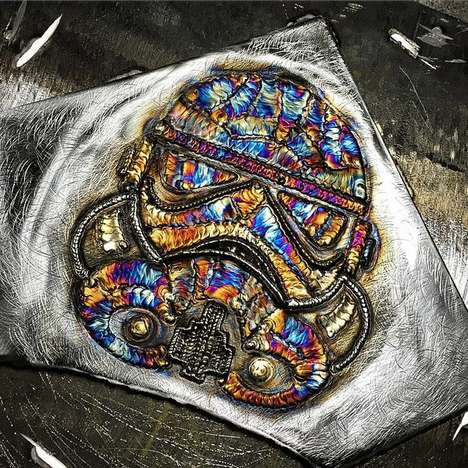 Vibrant Welding Art