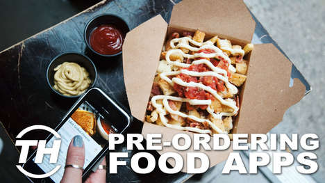 Pre-Ordering Food Apps