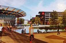 Athletic Retailer Campuses - Under Armour's New HQ is Styled as an Educational Campus