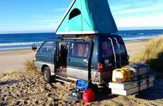 Grease-Powered Vehicles - Nathaniel Poole Drives His Mitsubishi Delica on Kitchen Waste Not Gas