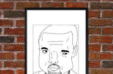 Inaccurate Rapper Drawings - Etsy's Badly Drawn Rappers Shop Celebrates Poor Illustration Skills