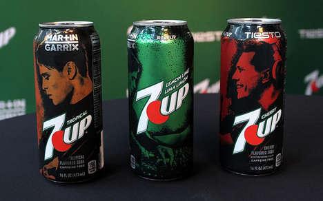 DJ-Inspired Soda Packaging