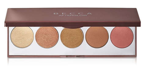 The Becca Holiday 2015 Palette Colors Focus on Contouring and Glow