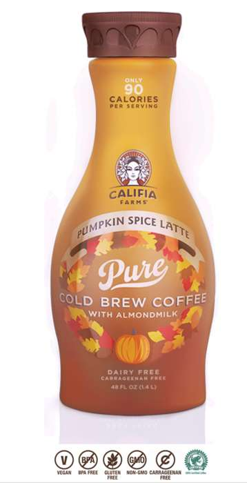 Dairy-Free Pumpkin Coffees