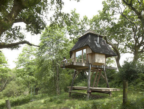Two-Storey Compact Cabins