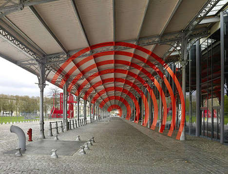 Dizzying Circular Street Art