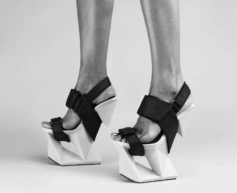 Ice-Inspired High Heels