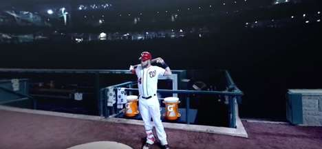 Virtual Reality Baseball Commercials - Gatorade Puts Fans in the Shoes of Bryce Harper
