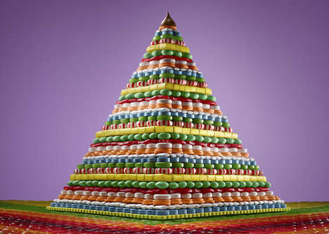 Architectural Food Pyramids