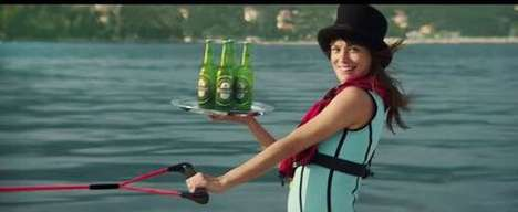 Secret Agent Beer Ads - This Heineken Ad Features a High-Speed Chase for the 007 Film 'Spectre'