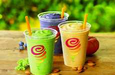 Almond Milk Smoothies - The Newest Line of Smoothies from Jamba Juice are Made with Real Almond Milk