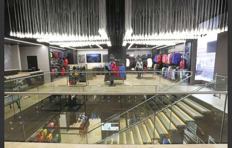 Interactive Outerwear Shops