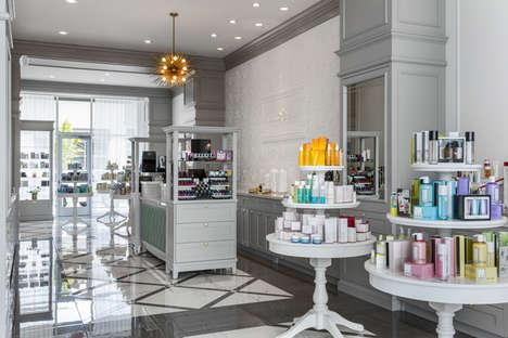 Vanity-Inspired Beauty Displays