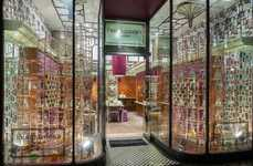 Scientific Perfume Displays - This Science Lab Display Promotes Penhaligon's High-End  Perfumes