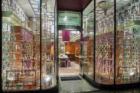 Scientific Perfume Displays