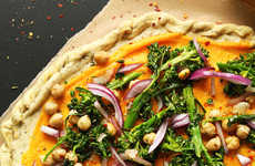 Seasonal Squash Pizzas - This Pizza is Made from Healthy and Flavorful Fall Ingredients