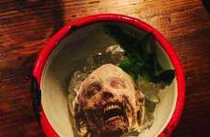 Zombie-Inspired Cuisine - Cannibal Chop and Brain Remains are on the Menu at UK Restaurant Chop Shop