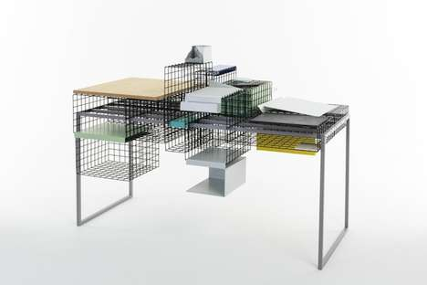 This Table is Modular and Can Adjust to a User's Preference