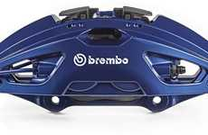 Low-Weight Brake Calipers - The New Brembo Brake Calipers are Designed For High-End Vehicles