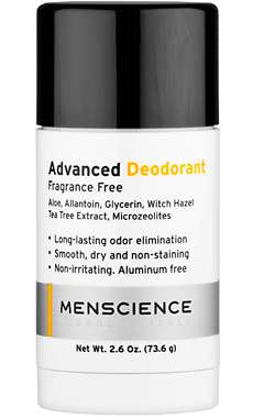 Unscented Natural Deodorants